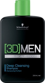 Šampūns Schwarzkopf 3DMEN Deep Cleansing, 1000 ml
