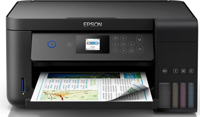 Daudzfunkciju printeris Epson L4160, tintes, krāsains