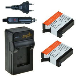 Jupio 2x GoPro AHDBT-401 HERO4 1160 mAh + GoPro Charger