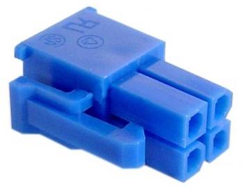 AC Ryan Pentium 4pin Power Plug Dark Blue