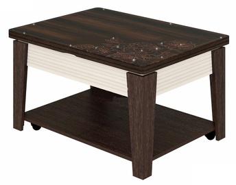 Журнальный столик DaVita Agat 32.10 Wenge, 950 - 1400x700x500 - 770 мм