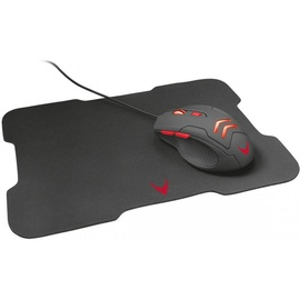 Platinet Omega Varr Gaming Set Mouse w/ Pad Black