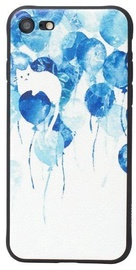 Hoco Cool Colored Balloons Back Case For Apple iPhone X/XS White/Blue