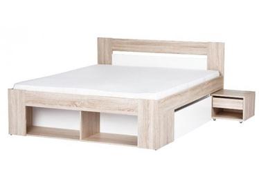Кровать Szynaka Meble Milo, 140 x 200 cm