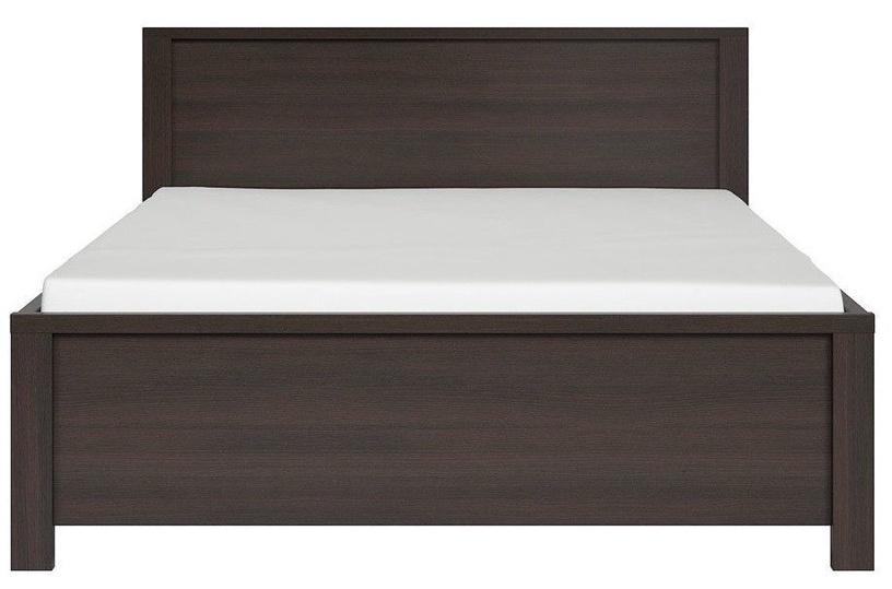 Кровать Black Red White Kaspian Wenge, 160 x 200 cm