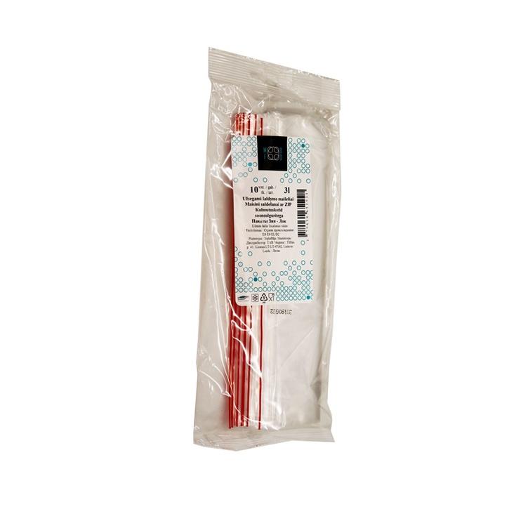 Saldēšanas maisiņi 3 l, 10 gb