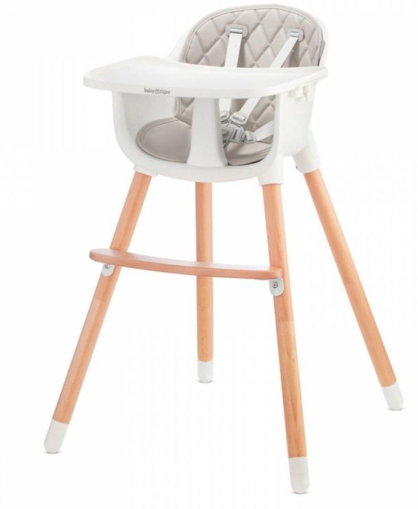 Стульчик для кормления Baby Tiger Tini Grey