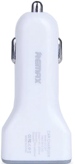 Remax CC-301 Universal 3x USB Plug Car Charger White