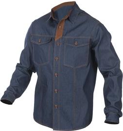 Krekls Sara Workwear 10441, zila/brūna, XL