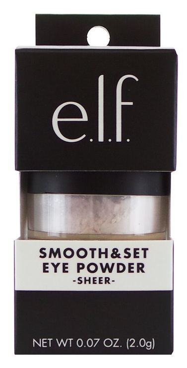 E.l.f. Cosmetics Smooth & Set Eye Powder 2g Sheer