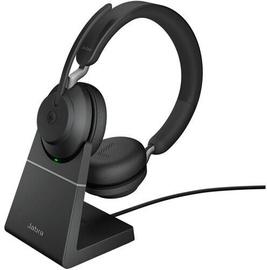 Беспроводные наушники Jabra Evolve2 65 Link380c MS Stereo, черный