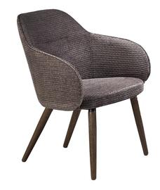 Atzveltnes krēsls Halmar Verano Dark Grey, 67x65x77 cm