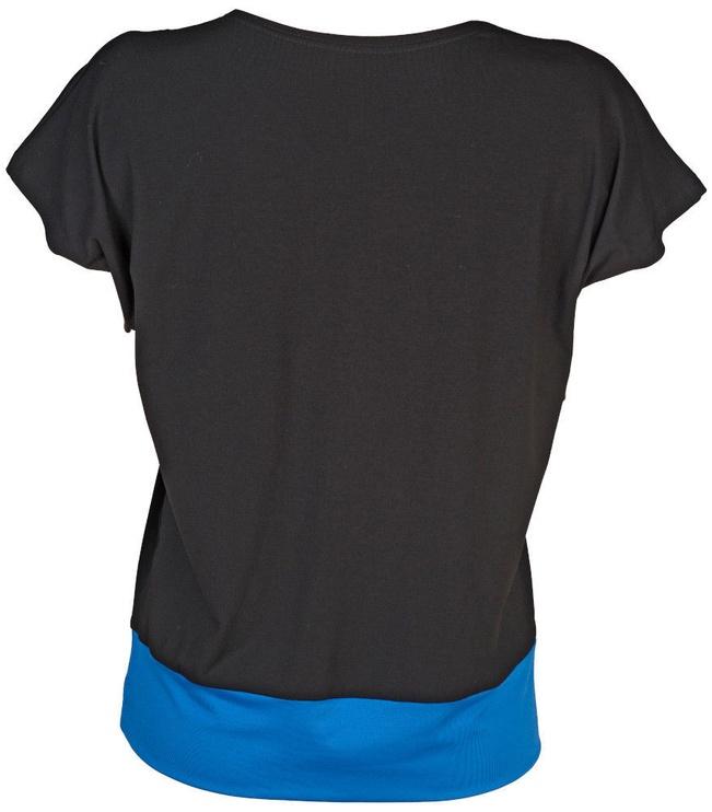 Bars Womens T-Shirt Black/Blue 90 XXL