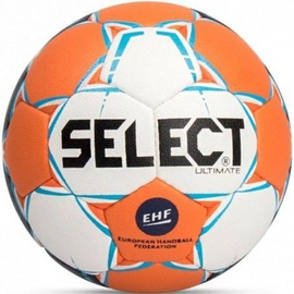 Select Ultimate Senior EHF Ball 14149 White/Orange Size 3
