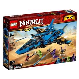 Konstruktors LEGO Ninjago Jay's Storm Fighter 70668