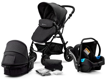 Коляска KinderKraft Moov 3 in 1 Black