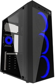 Gembird Fornax 1500 ATX Mid-Tower Black/Blue