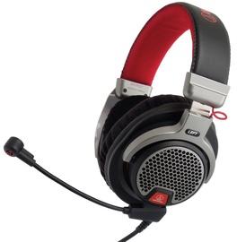 Spēļu austiņas Audio-Technica ATH-PDG1 Premium Gray/Red