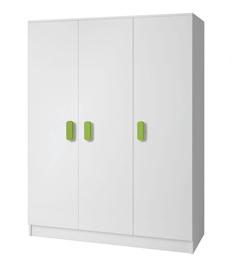 Idzczak Meble Smyk 19 3D Wardrobe White/Green