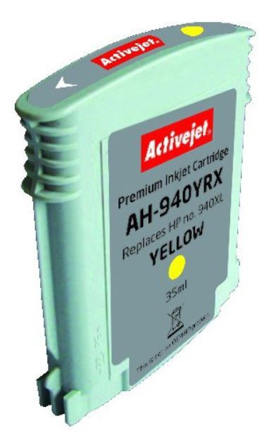 ActiveJet Cartridge AH-940YRX For HP 35ml Yellow