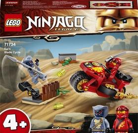 Konstruktors LEGO Ninjago Kai asmeņu motocikls 71734, 54 gab.