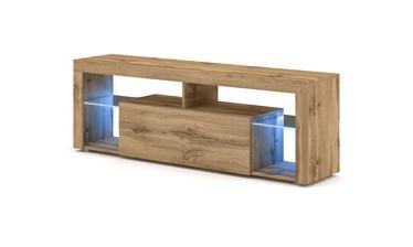 ТВ стол Vivaldi Meble Everest 2, дубовый, 1400x330x505 мм