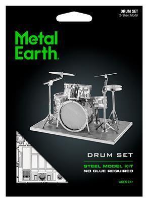 Конструктор Metal Earth Steel Model Kit Drum