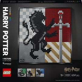 Konstruktors LEGO Art Harry Potter™ Cūkkārpas emblēmas 31201, 4249 gab.