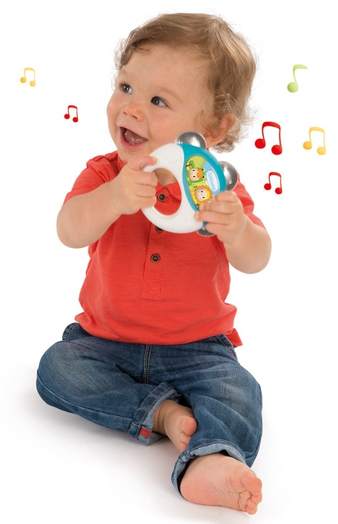 Smoby Cotoons Tambourine Rattle