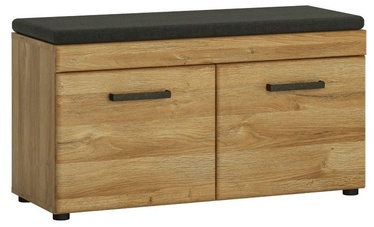 Шкаф для обуви Meble Wojcik Cortina CNAG05 Grandson Oak, 928x380x470 мм
