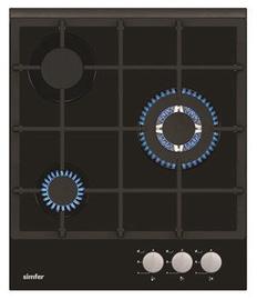 Gāzes plīts Simfer H4.305.HGSSP Black