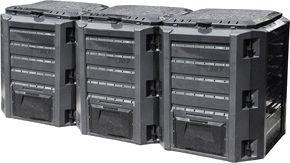 Komposta kaste Verners IKSM1200C, 1200 l