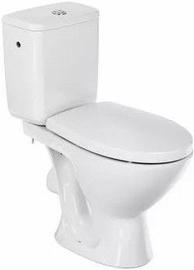 Туалет Cersanit Carmen, с крышкой, 360 мм x 660 мм