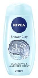 Dušas želeja Nivea Clay Fresh Shower Clay Blue Agave & Lavender Scent, 500 ml