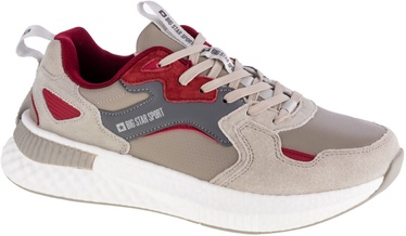 Big Star Sport Shoes GG174463 Beige/Red 42