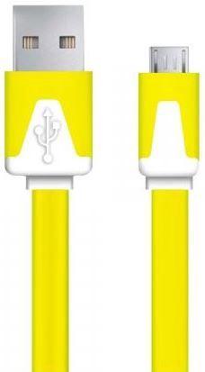 Esperanza Cable USB / USB-micro Yellow 1m