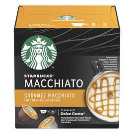 Kafijas Kapsulas Starbucks Dolce Gusto Caramel Macchiato ,12 gab