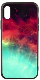 TakeMe Glass Glossy Back Case For Samsung Galaxy J4 Plus J415 Green Galaxy