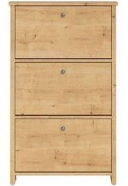 Шкаф для обуви Black Red White Porto Oak, 750x185x1260 мм