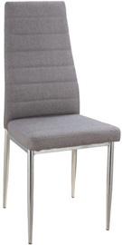 Ēdamistabas krēsls Signal Meble H263, pelēka