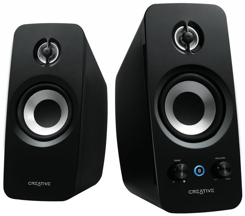 Bezvadu skaļrunis Creative T15 2.0, melna, 4 W