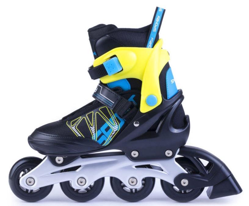 Ролики Spokey Speedstar Black/Blue/Yellow, 33-36
