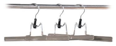 Kesper Trouser Holder 26cm Grey 3pcs