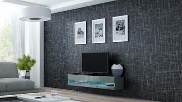 ТВ стол Cama Meble Vigo New 140, серый, 1400x300x1400 мм