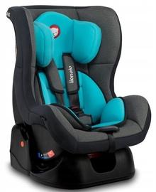 Mašīnas sēdeklis Lionelo Liam, zila/pelēka, 0 - 18 kg