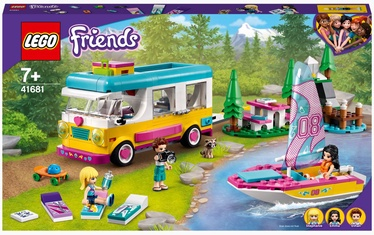 Konstruktors LEGO Friends Meža kemperis un burulaiva 41681, 487 gab.