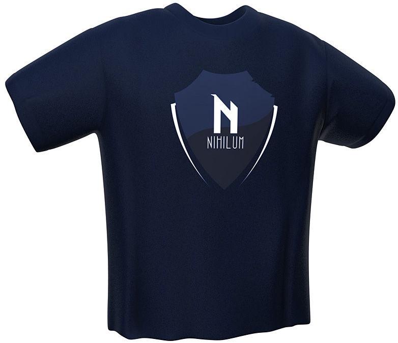 GamersWear Nihilum T-Shirt Navy XXL