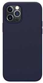 Mocco Liquid Silicone Soft Back Case Apple iPhone 12 / iPhone 12 Pro Blue