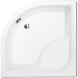 Roth Viki Lux Shower Tray White 800x480x800mm