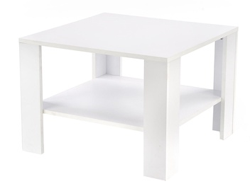 Kafijas galdiņš Halmar Kwadro, balta, 700x700x530 mm